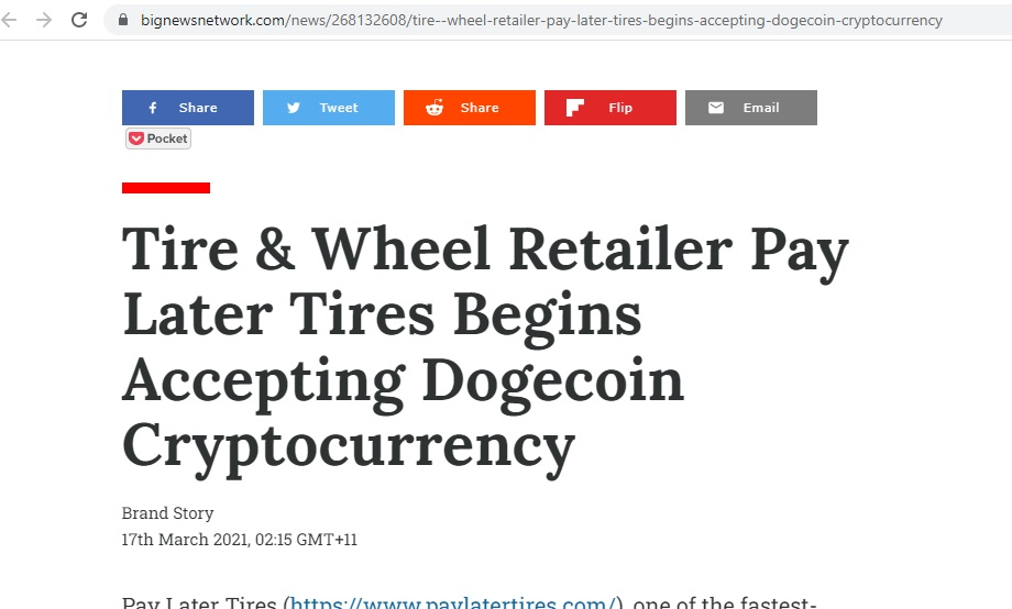 big news pay later